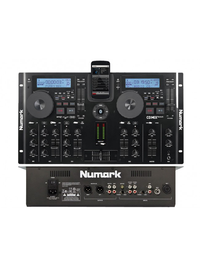 Platine Numark cd / usb / Bluetooth